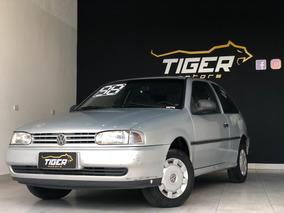Volkswagen Gol 1.6 Mi Cl 2portas Prata 1997/1998