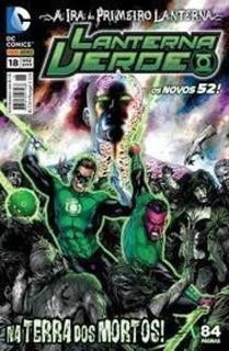 Os Novos 52! Lanterna Verde Nº 18 - Na Terra Dos Mortos