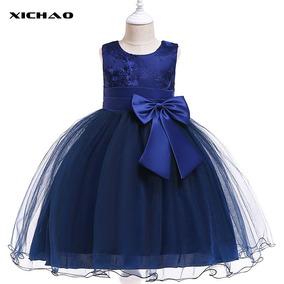 Vestido De Princesa Niño Tutú Azul Real