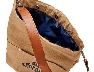 Bolsa Porta Cerveza Corona 41,3 X 39,4cm