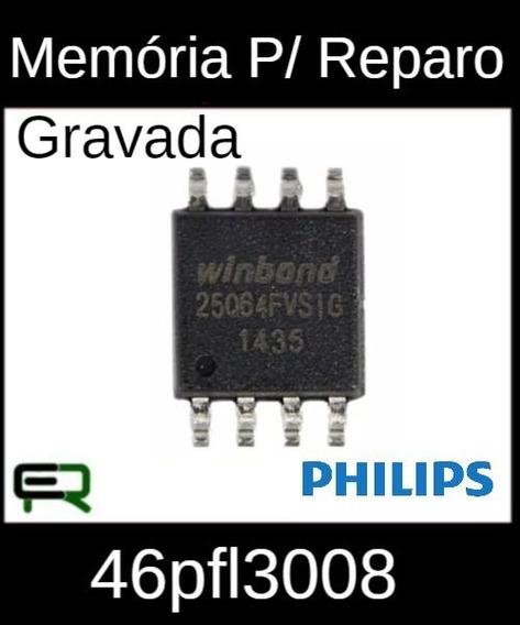 Memoria 25q64fvsig Gravada Para Reparo Tv Philips 46pfl3008