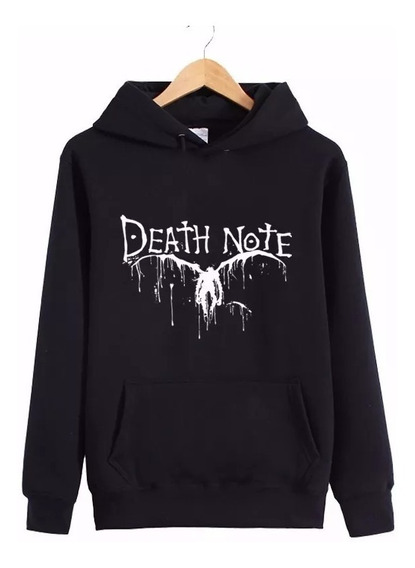 Blusa Moletom Casaco Blusão Death Note Anime L