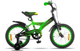 Bicicleta Bmx Cross Aurora Spider Rodado 12 Con Rueditas