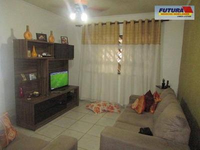 Casa Com 3 Dormitórios À Venda, 92 M² Por R$ 270.000 - Cidade Naútica - São Vicente/sp - Ca0197