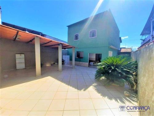 Imagem 1 de 21 de Casa Com 4 Dormitórios, 250 M² - Venda Por R$ 330.000,00 Ou Aluguel Por R$ 2.200,00/mês - Campo Grande - Rio De Janeiro/rj - Ca1876