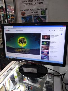 Monitor Samsung Led 19 Pulgadas Puerto Vga Full Imagen