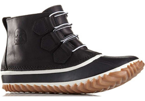 Botas Nieve Impermeables Sorel Out N About Leather Ii Dama