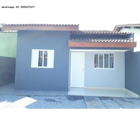Casa Plana/usada Para Venda Em Várzea Grande, Canelas, 2 Dormitórios, 1 Banheiro - 330_1-1323654