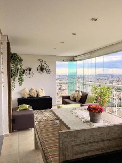 Apartamento Para Venda Em São Paulo, Jardim Santo Elias, 3 Dormitórios, 2 Suítes, 4 Banheiros, 2 Vagas - Ap445
