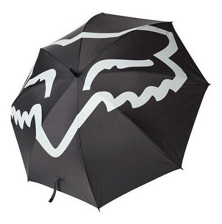 Sombrilla Fox Trac Paraguas Negro Para Sol, Viento Y Lluvia