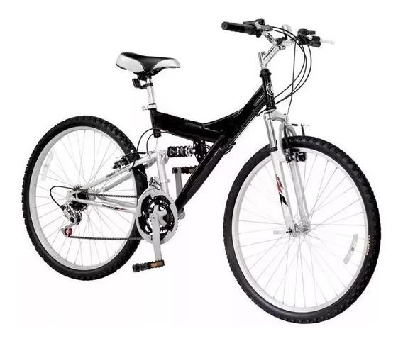 Bicicleta Mtb Doble Suspension Peretti R26 21v + 6 Cuotas