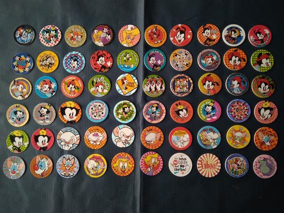 Elma Chips - Coleção Pog Animaniacs Completa -1995 Excelente