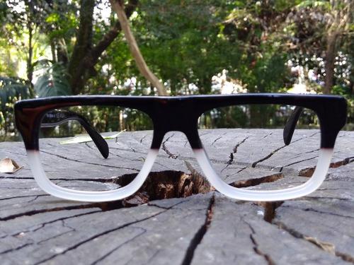 9165674db Óculos Armação De Grau Retrô Resistente Bc8113 Alex Milan