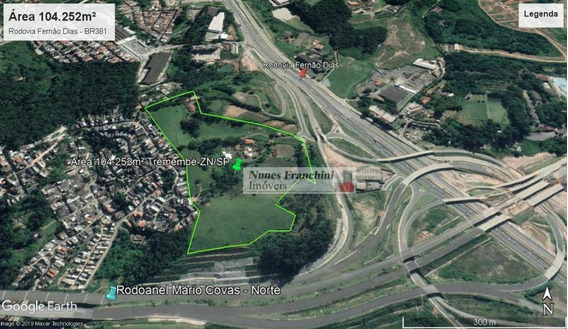 Terreno Tremembé / Rodoanel - 104.252m² - Te0107