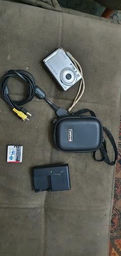 Sony Cybershot Dsc-w80 Com Carregador, Bateria, Cabo E Bolsa