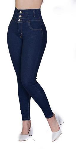 Imagen 1 de 4 de  Jeans Dama Pantalones  Mujer Colombiano  Pompa Vk Jeans