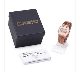 Relógio Feminino Rose Casio Vintage B640wc Original
