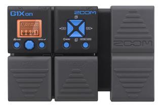 Pedal Multiefectos Zoom G1xon Con Pedal De Expresión