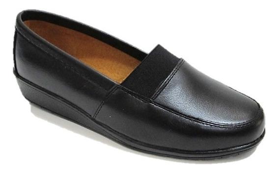 Zapatos De Descanso Mujer Florenza Piel Cómodos 6020