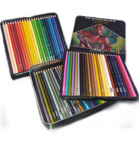 Imagen 1 de 3 de Caja De Colores Prismacolor 72 Creyones