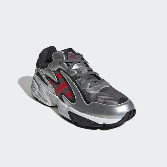 Tenis adidas Yung 96 Hombre Piel Plata No Puma Nike Reebok