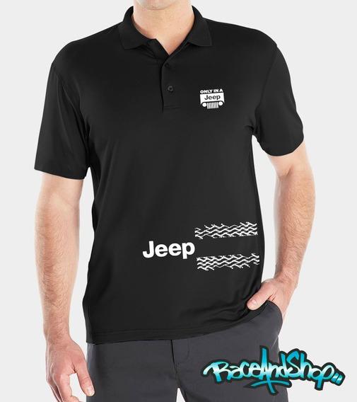 Playeras Polo Premium Jeep Mod 2 R&s