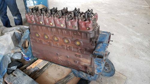 Imagem 1 de 7 de Motor Mwm 229 Retificado Completo Bomba Bico