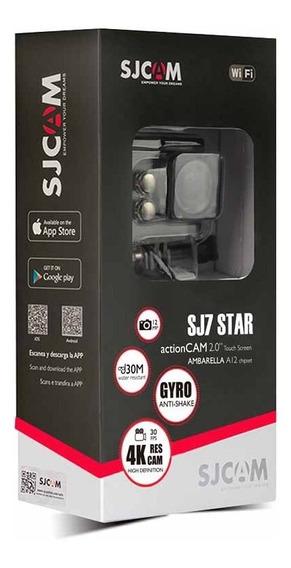 Câmera Sjcam Sj7 Star Wifi Original Filmadora 4k 16mp 2.0