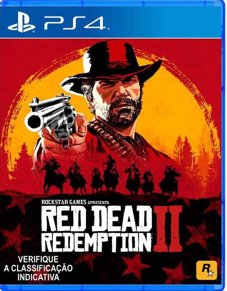 Red Dead Redemption Ii 2 Ps4 Midia Fisica Português