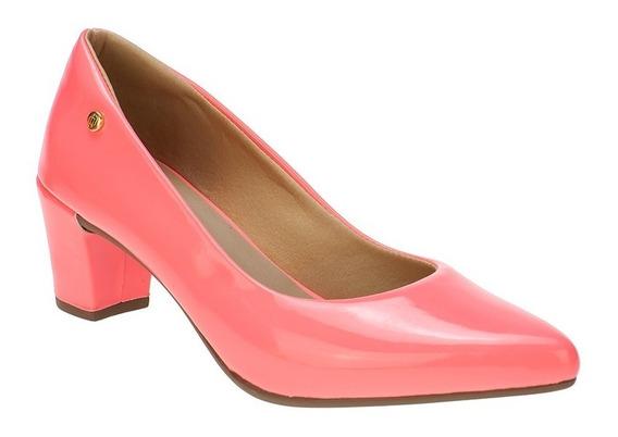 Sandalia Scarpin Feminino Fluorescente Neon Rosa, Amarelo