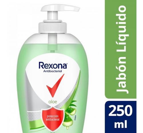 Antibacterial Jabon Liquido Rexona Proteccion Aloe X 250ml