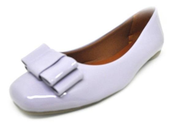 Sapatos Femininos Sapatilha Bico Quadrado Laço Dani K