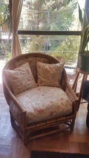 Poltrona De Mimbre (sillón Un Cuerpo)