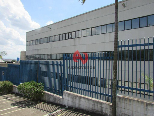 Galpão Para Alugar, 4307 M² Por R$ 116.000,00/mês - Tamboré - Barueri/sp - Ga0543
