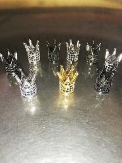 Dije Corona Rey Materiales De Bisutería