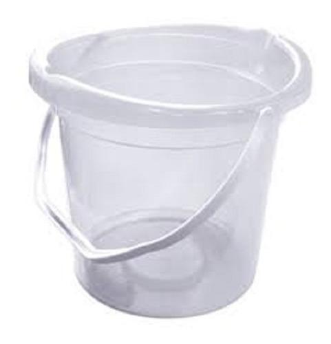 Balde 15 Lt Alça Plástica Transparente
