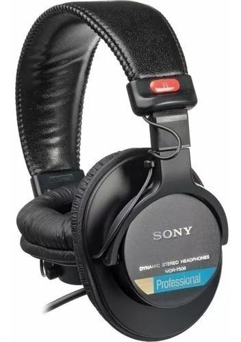 Headset Fone Sony Mdr7506 Profissional - Nfe