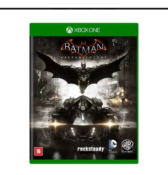 Batman Arkham Knight Xbox One Midia Fisica Original Lacrado