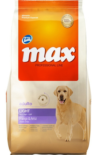 Max Ligth 15kg + Obsequio - kg a $11733