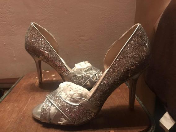 Zapatos Plateados Marca Aldo