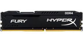 Memória Kingston Hyperx Fury Black Ddr4 4gb 2400mhz