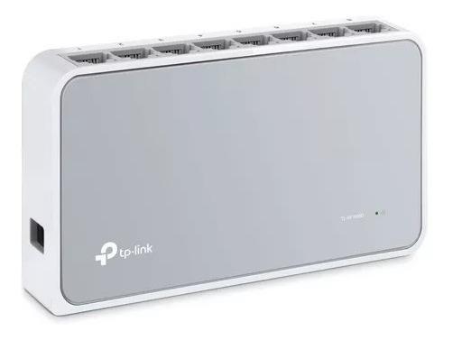 Switch Tp-link 8 Puertos Tl-sf1008d 10/100mbps Desktop