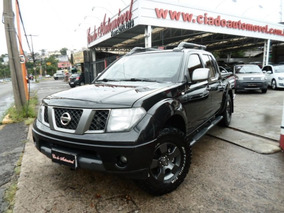 Nissan Frontier Le Attack 4x4 Aut 2013 Preta Diesel