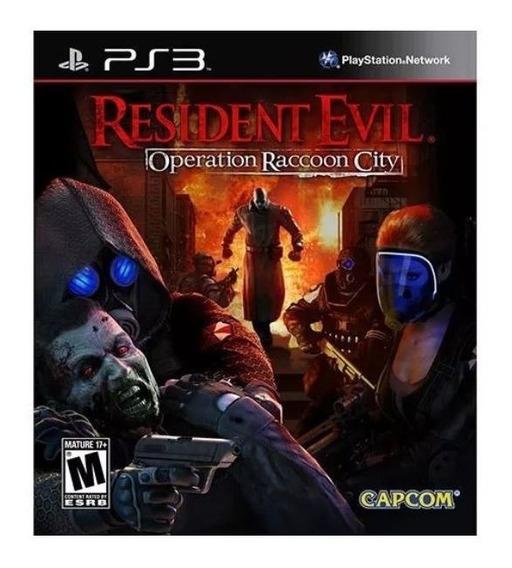 Game Play3 - Resident Evil Operation R. City - Semi-novo