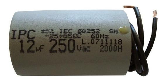 Capacitor De Partida 12uf Motor Portão Eletrônico Seg Garen