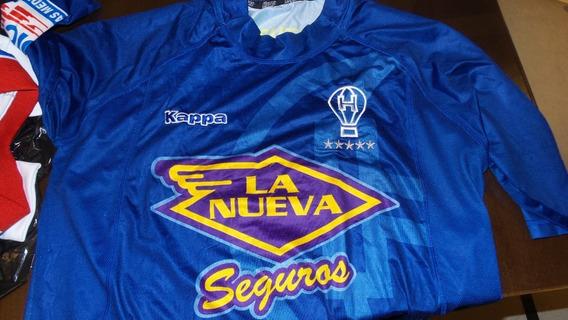 Camiseta Huracan Kappa 2007 - Hugo Barrientos