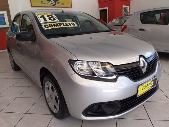 Renault Logan 1.0 Authentique 2018 Sem Entrada 48x 1150,00