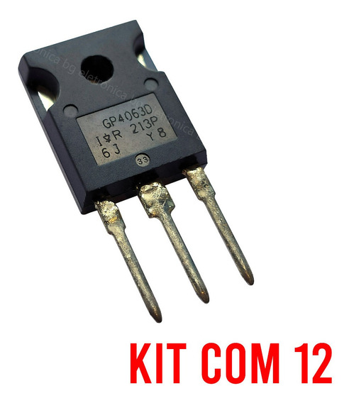 Igbt Gp4063 Irfgp4063 Gp4063d Original | Kit Com 12 Peças