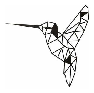 Colibrí Figura Geométrica