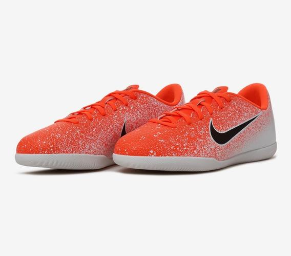 Chuteira Nike Futsal Mercurial Vapor Xii Infantil Original